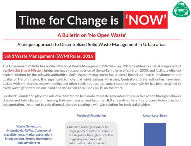 Towards Sustainable Urban Sanitation